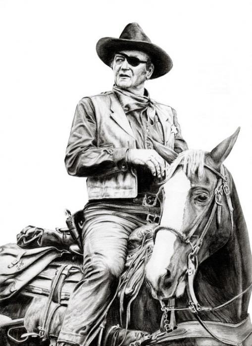 John Wayne por jmichel